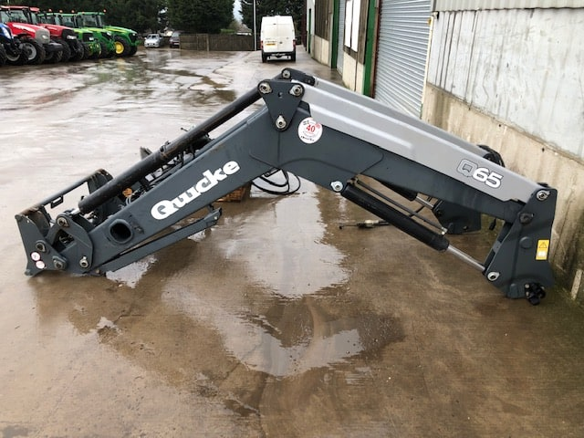 QUICKE Q65 FRONT LOADER & BRACKETS TO SUIT CASE MX135 OR SIMILAR